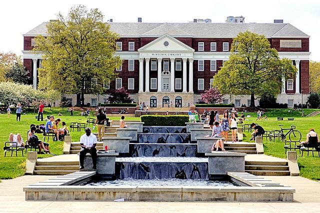 umd campus image