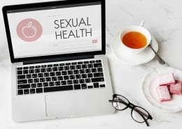 Sexual Health Diseases Women Awareness Concept