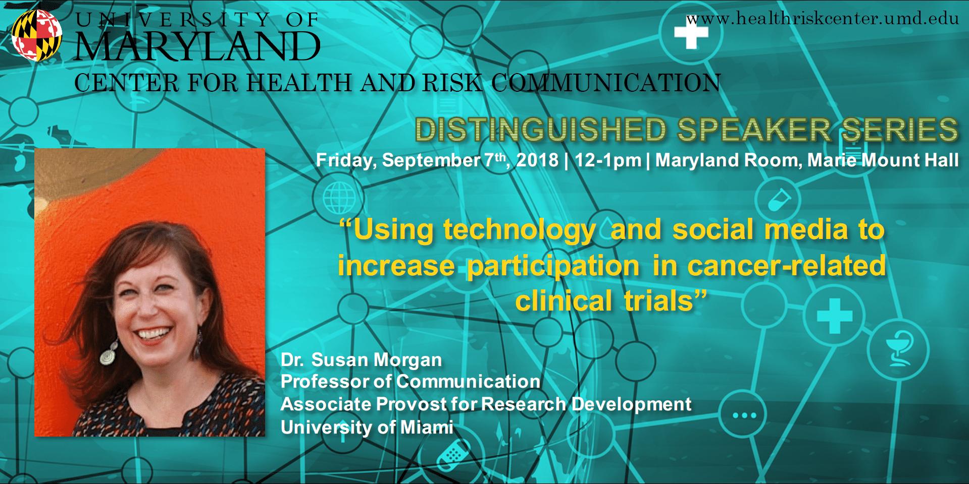 Dr. Susan Morgan speaker
